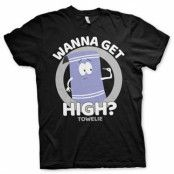 South Park / Towelie - Wanna Get High T-Shirt, Basic Tee