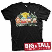 South Park Distressed Big & Tall T-Shirt, Big & Tall T-Shirt