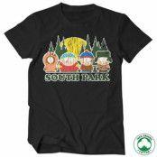 South Park Distressed Organic T-Shirt, 100% Organic T-Shirt