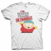 South Park - I'm White Trash In Trouble T-Shirt, Basic Tee