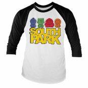 South Park Sketched Baseball Long Sleeve Tee, Long Sleeve T-Shirt