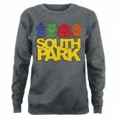 South Park Sketched Girly Sweatshirt, Girly Sweatshirt