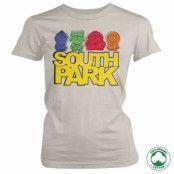 South Park Sketched Organic Girly T-Shirt, 100% Organic Girly T-Shirt