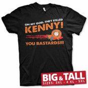 South Park - The Killed Kenny Big & Tall T-Shirt, Big & Tall T-Shirt
