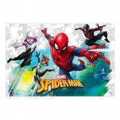Bordsduk Spiderman Team