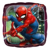 Folieballong Spider-Man Kvadrat