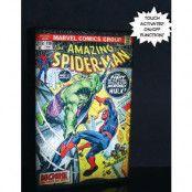 Marvel Spider-Man Luminart - Canvasbild med Ljus 20x30 cm