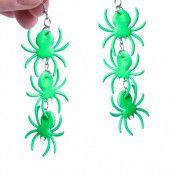 Örhängen, spindlar gröna