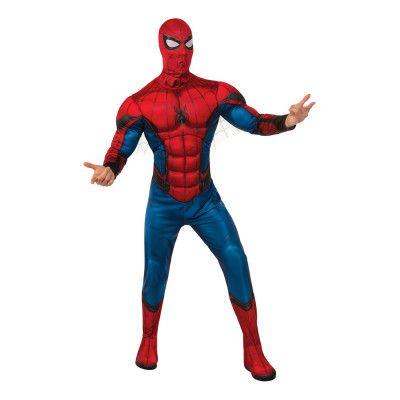 Spider-Man med Muskler Deluxe Maskeraddräkt - Standard