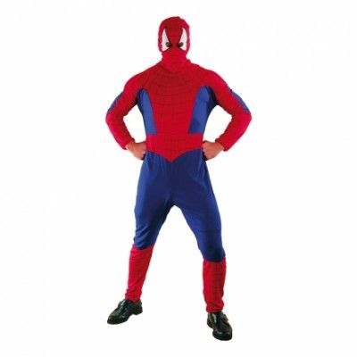 Spiderman Budget Maskeraddräkt - One size