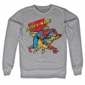 Retro Spider-Man Sweatshirt, Sweatshirt