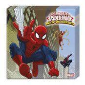 Servett Ultimate Spiderman - 20-pack