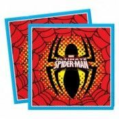 Servetter Spindelmannen - 20 st
