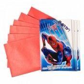 Spiderman Inbjudningskort