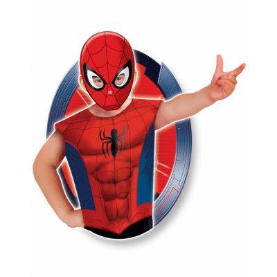 Licensierad Marvel Spider-Man Dräkt till Barn - Strl 3-6 ÅR