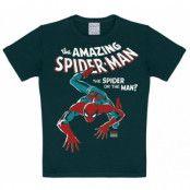 Marvel The Amazing Spiderman T-Shirt Barn Svart, 140-152CL