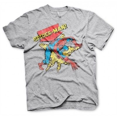 Retro Spider-Man T-Shirt, Basic Tee