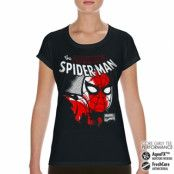 Spider-Man Close Up Performance Girly Tee, T-Shirt