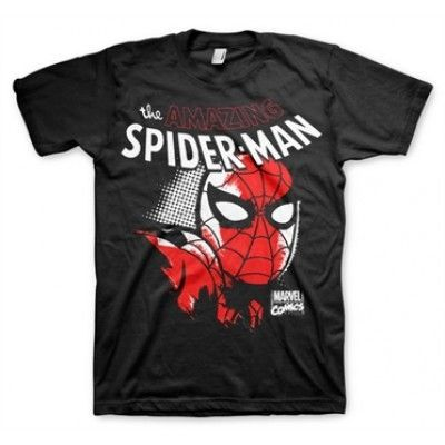 Spider-Man Close Up T-Shirt, Basic Tee