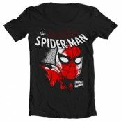 Spider-Man Close Up Wide Neck Tee, Wide Neck T-Shirt