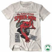 Spider-Man Comic Book Organic T-Shirt, 100% Organic T-Shirt
