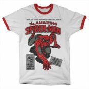 Spider-Man Comic Book Ringer Tee, T-Shirt
