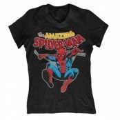 The Amazing Spiderman Girly V-Neck T-Shirt, Girly V-Neck T-Shirt