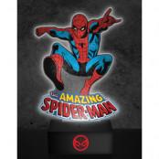 The Amazing Spider-Man Akryllampa 24 cm