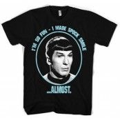 I Made Spock Smile T-Shirt, Basic Tee