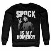 Spock Is My Homeboy Sweatshirt, Sweatshirt