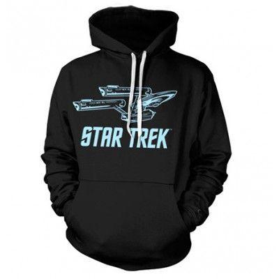 Star Trek / Enterprise Ship Hoodie, Hooded Pullover