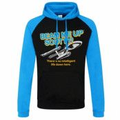 Star Trek - Beam Me Up Scotty Baseball Hoodie, Baseball Hoodie