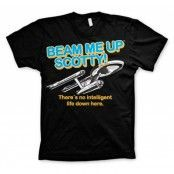 Star Trek - Beam Me Up Scotty T-Shirt, Basic Tee