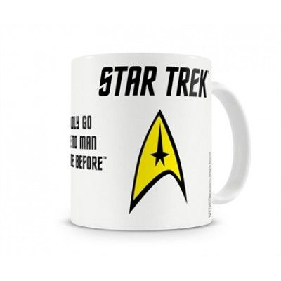 Star Trek Boldly Coffee Mug, Coffee Mug