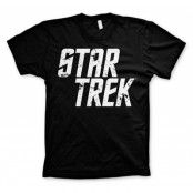Star Trek Distressed Logo T-Shirt, Basic Tee