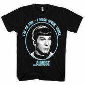 Star Trek I Made Spock Smile T-Shirt