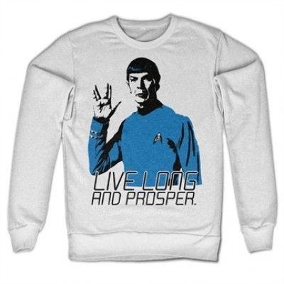 Star Trek - Live Long And Prosper Sweatshirt, Sweatshirt
