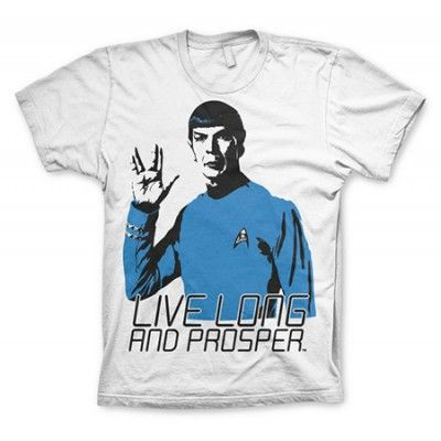 Star Trek - Live Long And Prosper T-Shirt, Basic Tee