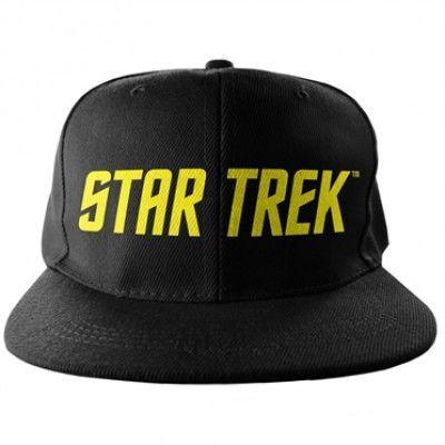 Star Trek Logo Snapback Cap, Adjustable Snapback Cap