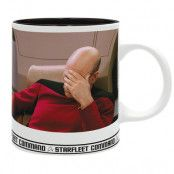 Star Trek Mugg Facepalm