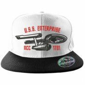 Star Trek U.S.S. Enterprise Snapback Cap, Adjustable Snapback Cap