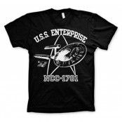 Star Trek - U.S.S. Enterprise T-Shirt, Basic Tee