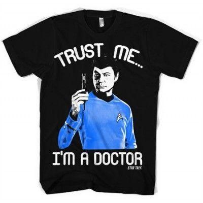 Trust Me - I´m A Doctor T-Shirt, Basic Tee