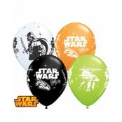 6 stk 30 cm Ballonger - Star Wars