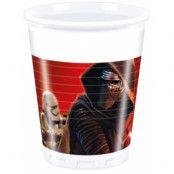 8 stk Star Wars VII Plastmuggar 200 ml - Star Wars