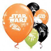 Ballonger Star Wars Flerfärgade - 25-pack