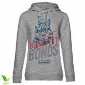 Boba Fett Bonds Girls Hoodie, Girls Organic Hoodie