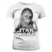 Chewbacca Girly T-Shirt, Girly T-Shirt