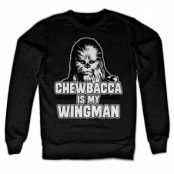 Chewbacca Is My Wingman Sweatshirt, Sweatshirt