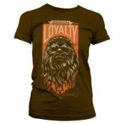 Chewbacca Loyalty Girly Tee, Girly Tee